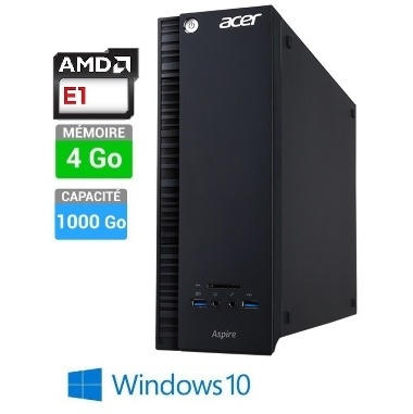 PC ACER ASPIRE XC-217 E1-4GO-1TO W10