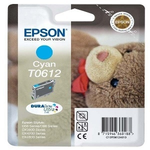CARTOUCHE EPSON T0612 CYAN (BLEU)
